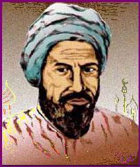 Retrato de Ibn al-Nasif, el hombre que descubrió la circulación pulmonar antes que Miguel Servet. Imagen de Nicolae Coman. https://es.wikipedia.org/wiki/Ibn_Nafis#/media/File:Ibn_al-Nafis.jpg