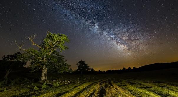 Con la cantidad de estrellas que hay en la Vía Láctea y la posible ingente cantidad de planetas… ¿No es raro que no hayamos encontrado rastros de vida en otros lugares? Fotografía de Alfredo.
