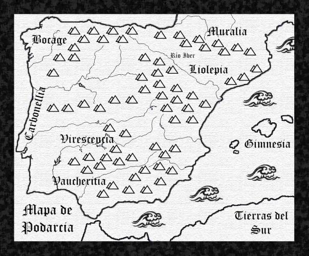mapa peninsula iberica Podarcis lagartijas podarcia
