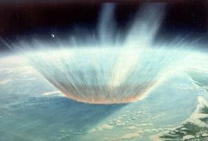 meteorito extinción