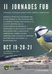 jornadas fub biodiversidad urbana ciudades