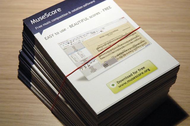 papel flyer sostenibilidad
